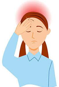今日の天気、寒気・低気圧による頭痛とめまい。。
